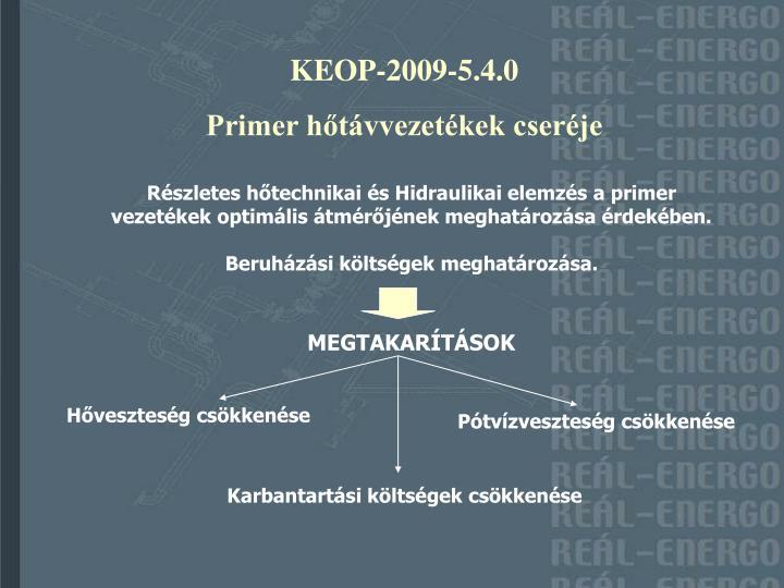 KEOP-2009-5.4.0