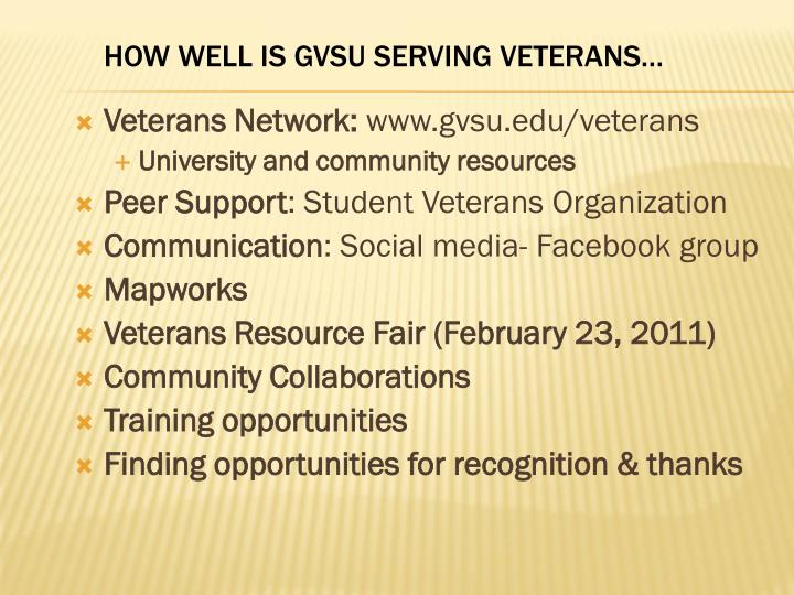 Veterans Network:
