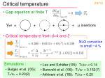 critical temperature