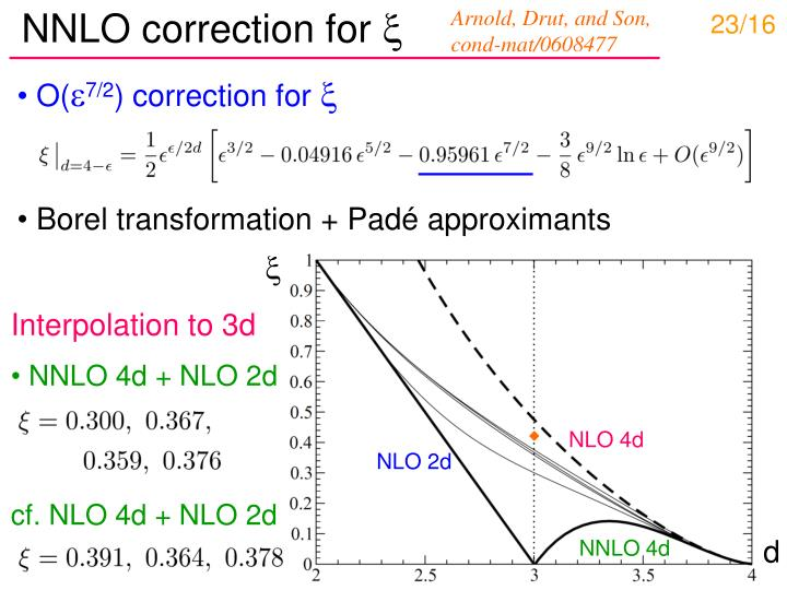 NNLO correction for