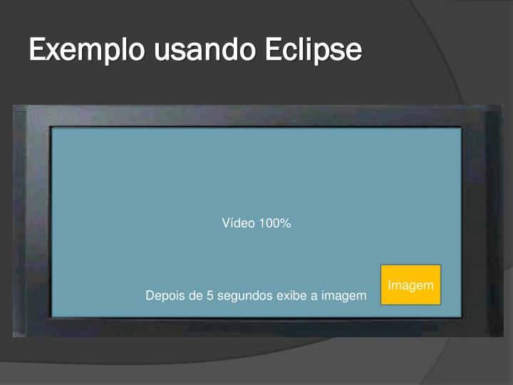 Exemplo usando Eclipse