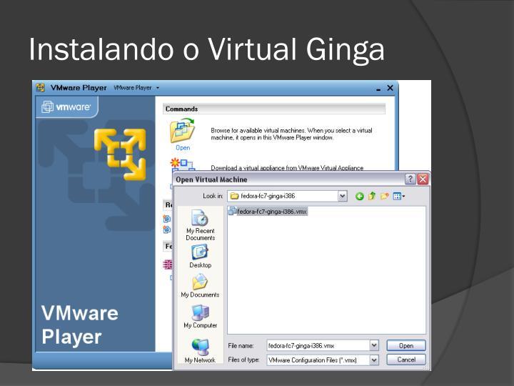 Instalando o Virtual Ginga