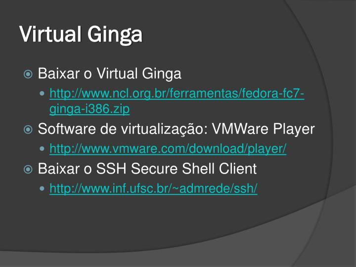 Virtual Ginga