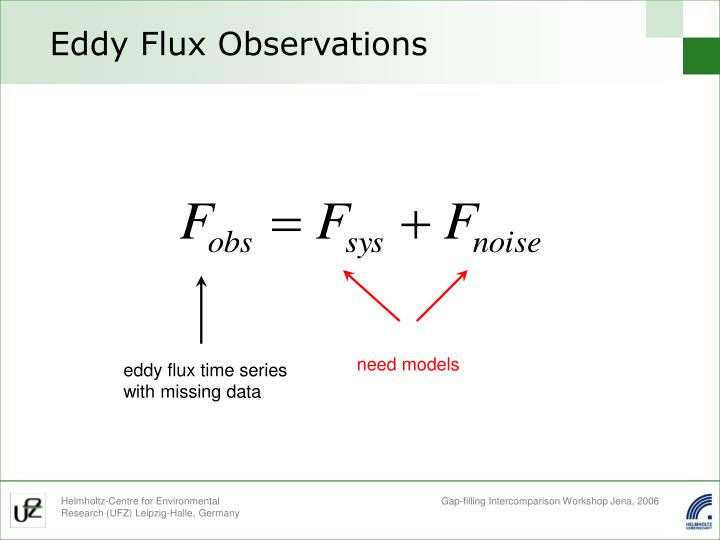 Eddy flux observations1