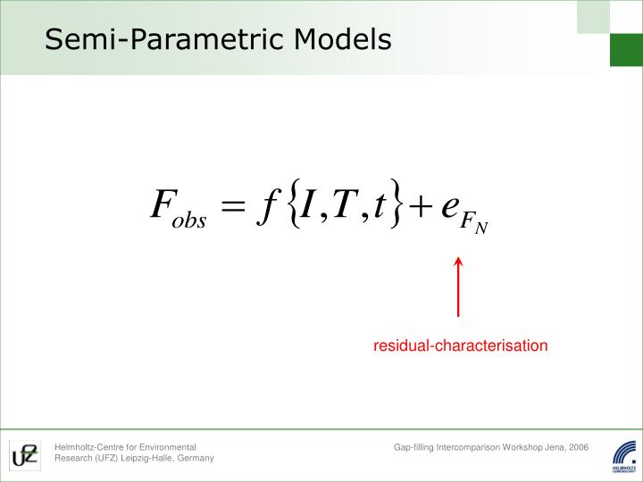 Semi-Parametric Models