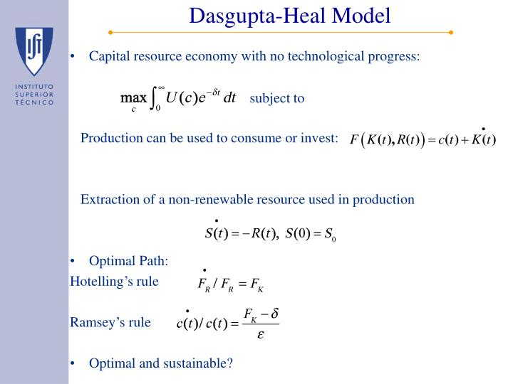 Dasgupta-Heal Model