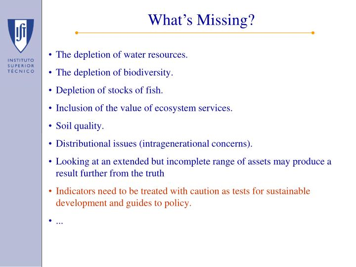 The depletion of water resources.