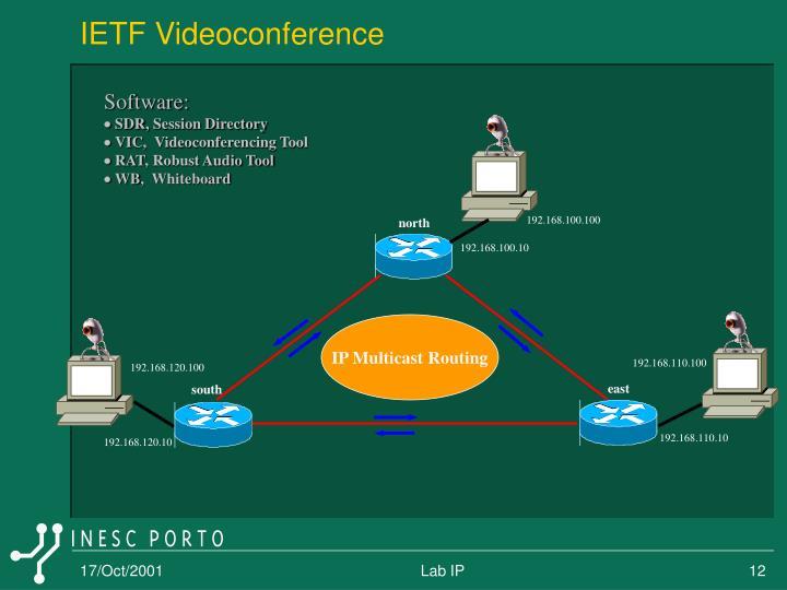 IETF Videoconference