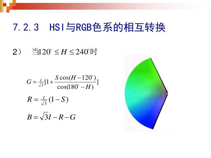 7.2.3  HSI