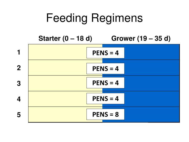 Feeding Regimens