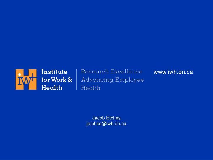 www.iwh.on.ca