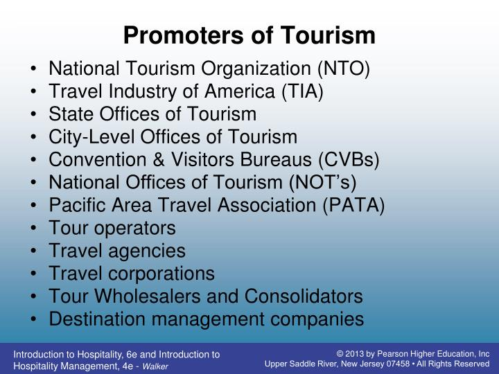 Promoters of Tourism