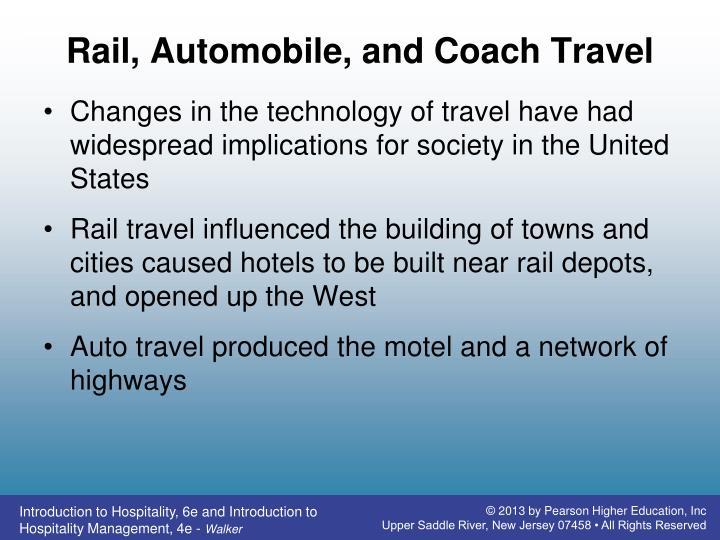Rail, Automobile, and Coach Travel