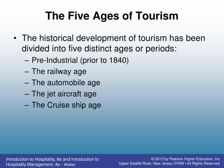 The Five Ages of Tourism