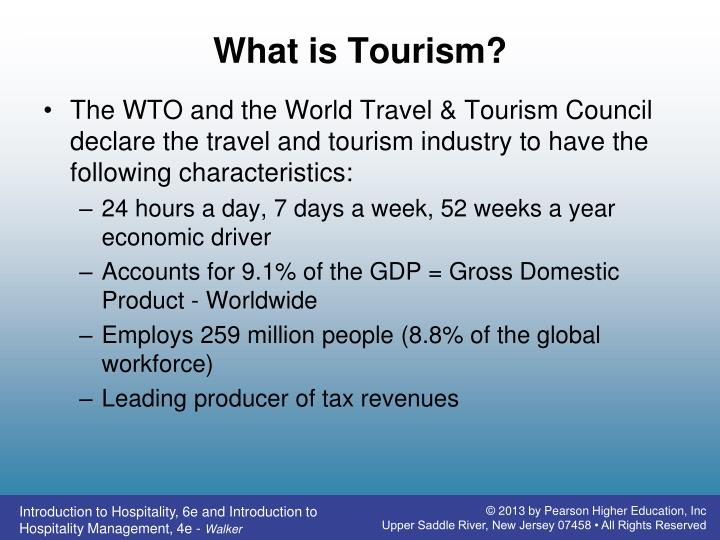 What is Tourism?
