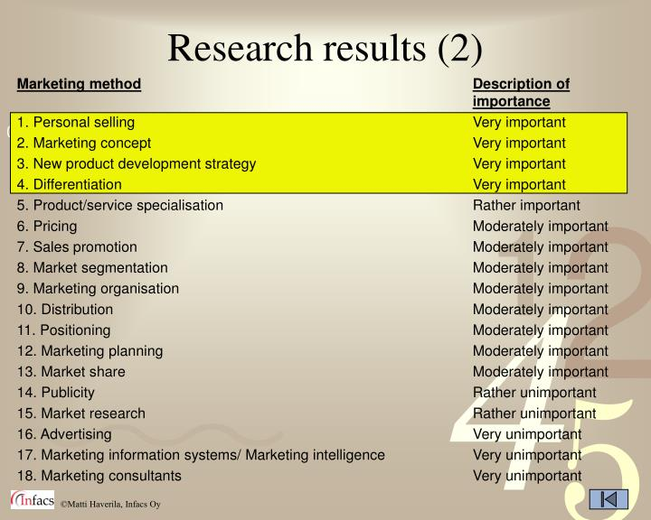 Research results (2)