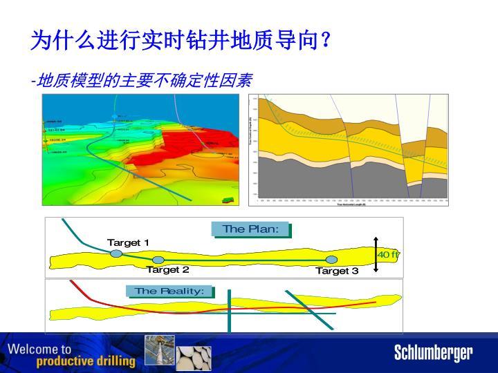 为什么进行实时钻井地质导向?