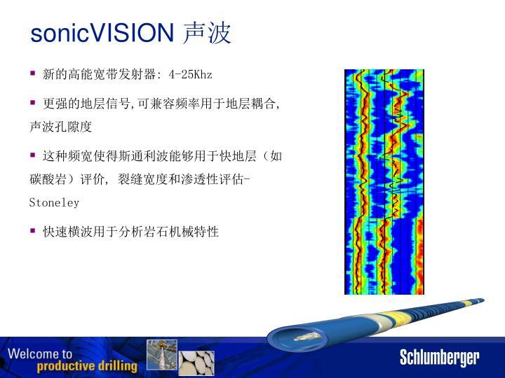 sonicVISION