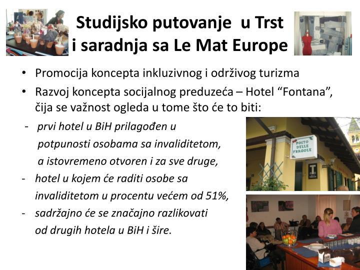 Studijsko putovanje  u Trst