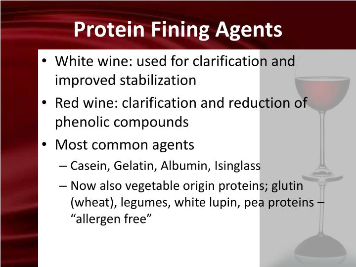 Protein Fining Agents