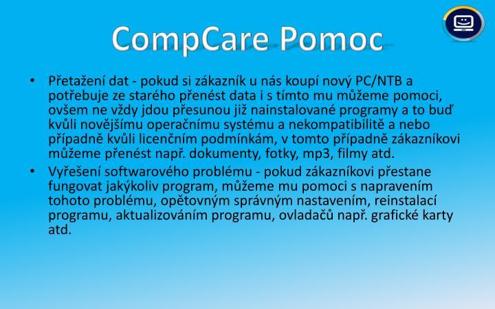 CompCare Pomoc