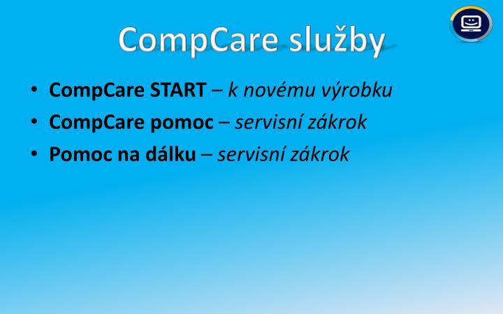 CompCare služby