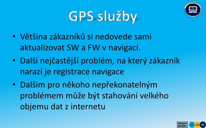 GPS služby