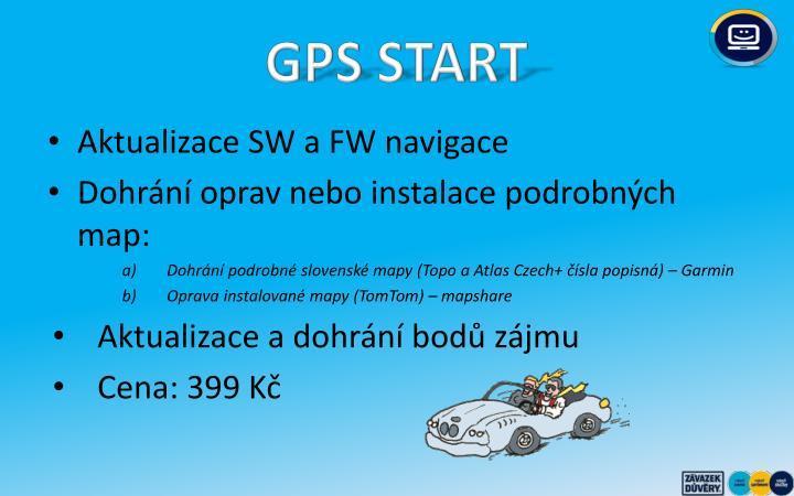 GPS START