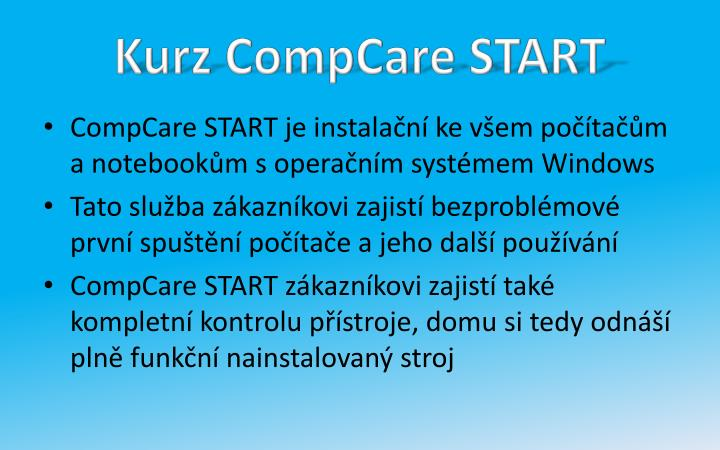 Kurz CompCare START