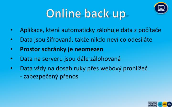 Online back up