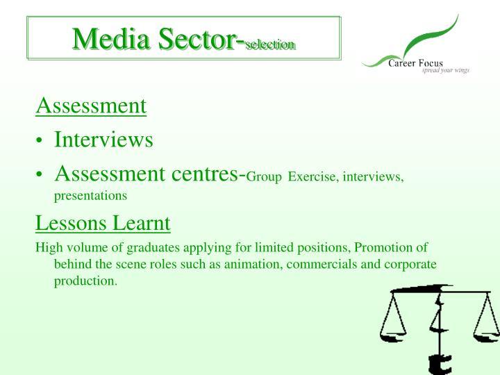 Media Sector-