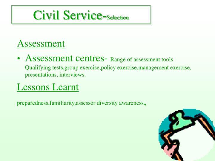 Civil Service-