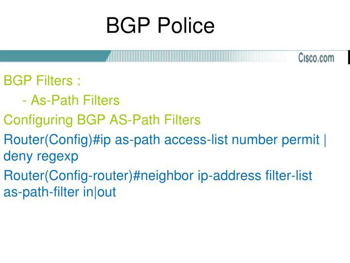 BGP Police