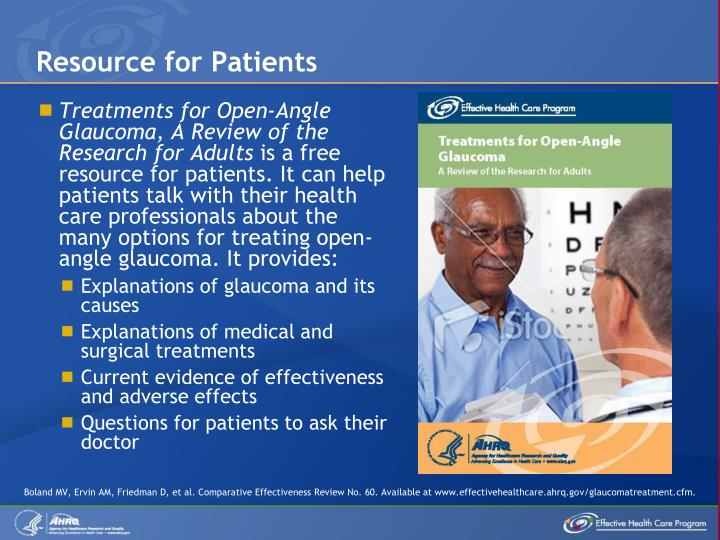 Resource for Patients