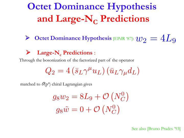 Octet Dominance Hypothesis
