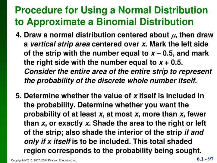 4.Draw a normal distribution centered about