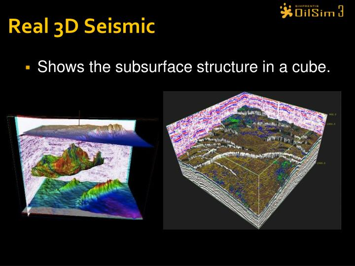 Real 3D Seismic