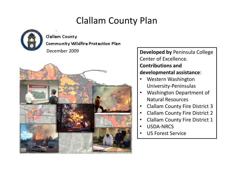 Clallam County Plan
