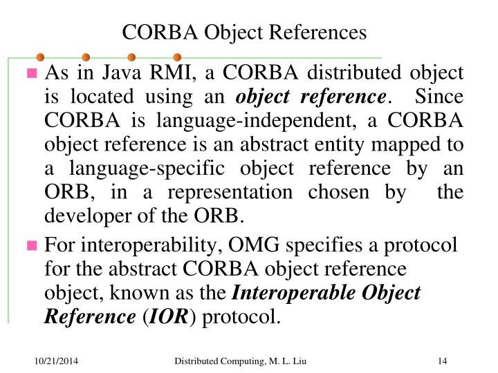 CORBA Object References
