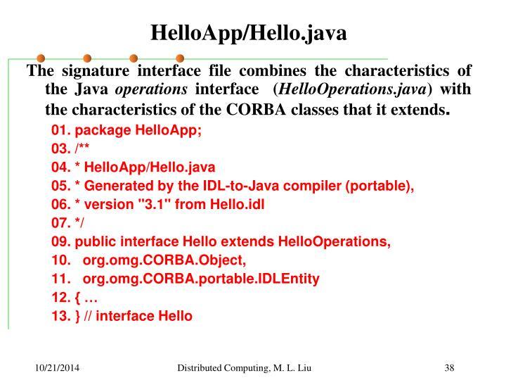 HelloApp/Hello.java