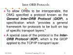 inter orb protocols