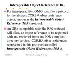 interoperable object reference ior