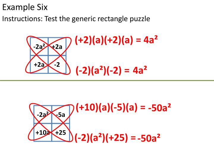 Example Six