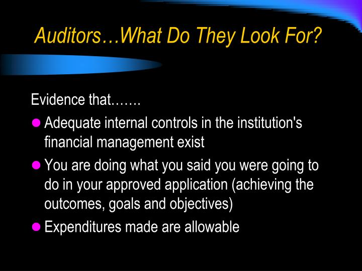 are auditors born or made Therefore, both auditors and management need to exercise sound judgment just because a decision is tough, does not mean it shouldn't be made moreover, to the extent this iron curtain on communication threatens to impair the overall quality of financial reporting, it is inconsistent with the act and all regulations adopted under the act.