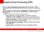 complex event processing cep
