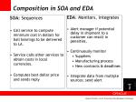 composition in soa and eda