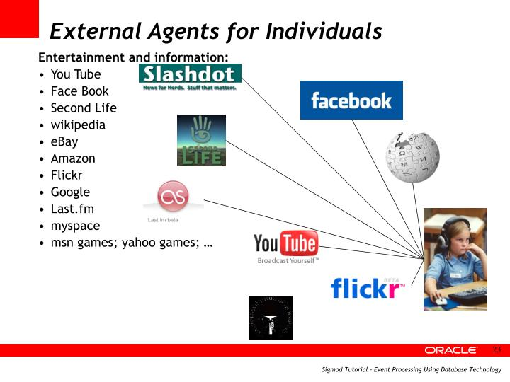 External Agents for Individuals