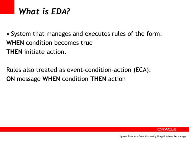 What is EDA?