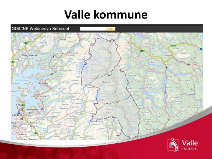 Valle kommune