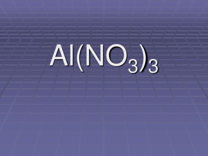 Al(NO